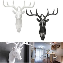 Deer head - wall hook - hanger