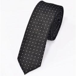 Classic polyester slim tie