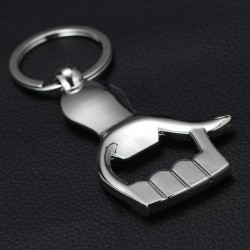 Thumb up - metal bottle opener - keychain