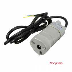12V-24V DC 1.2A 5M 600L/H submersible motor water pump