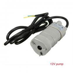 12V-24V DC 1.2A 5M 600L/H submersible motor water pump