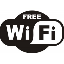 FREE WiFi - sticker