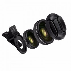 0.45X Wide angle & 12.5X macro - professional HD camera lens