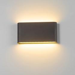Modern 6W - 12W LED indoor - outdoor wall lamp waterproof IP65