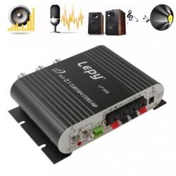 Hi-Fi 2.1 stereo amplifier