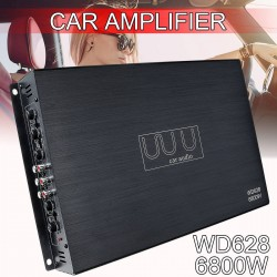 DC 12V 6800W 4-channel car amplifier