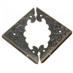 Decorative antique corner protectors 12 pieces