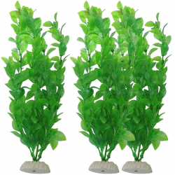 Aquarium artificial green grass - plant 26 cm