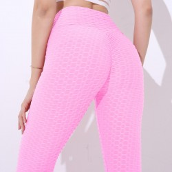 Slimming pants - anti-cellulite leggings with push up - high waist premis