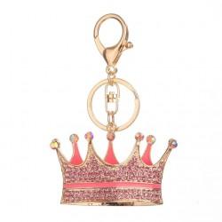 Crystal crown - keychain