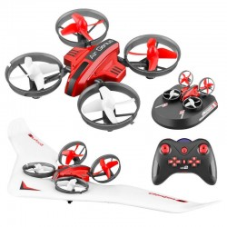 L6082 DIY All in One Air Genius Drone - 3-mode with fixed wing glider RC Quadcopter RTF