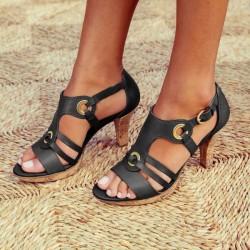 Fashionable gladiator sandals