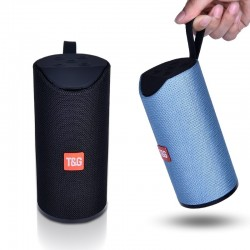 Bluetooth speaker - portable wireless mini column - 3D 10W - FM TF card
