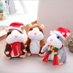 Christmas talking hamster - plush toy