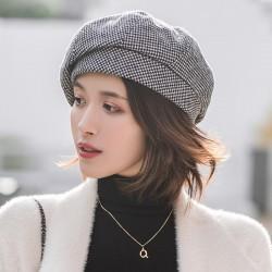 Elegant wool beret - hat