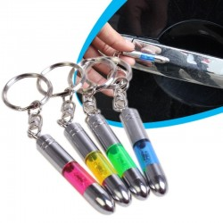 Anti-static metal keychain - built-in LED emitter