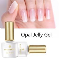 Opal jelly - nail varnish - white soak off UV polish gel 6ml
